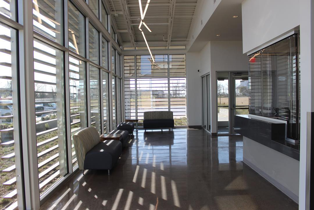 Layne Glass - Commercial Window Glass Project